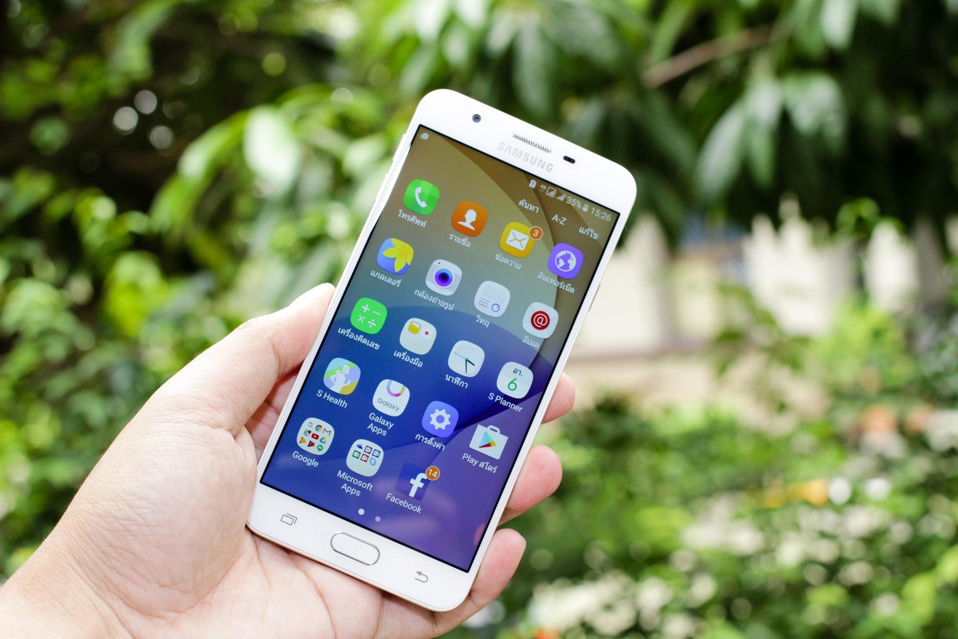 Teléfono Android libre de virus
