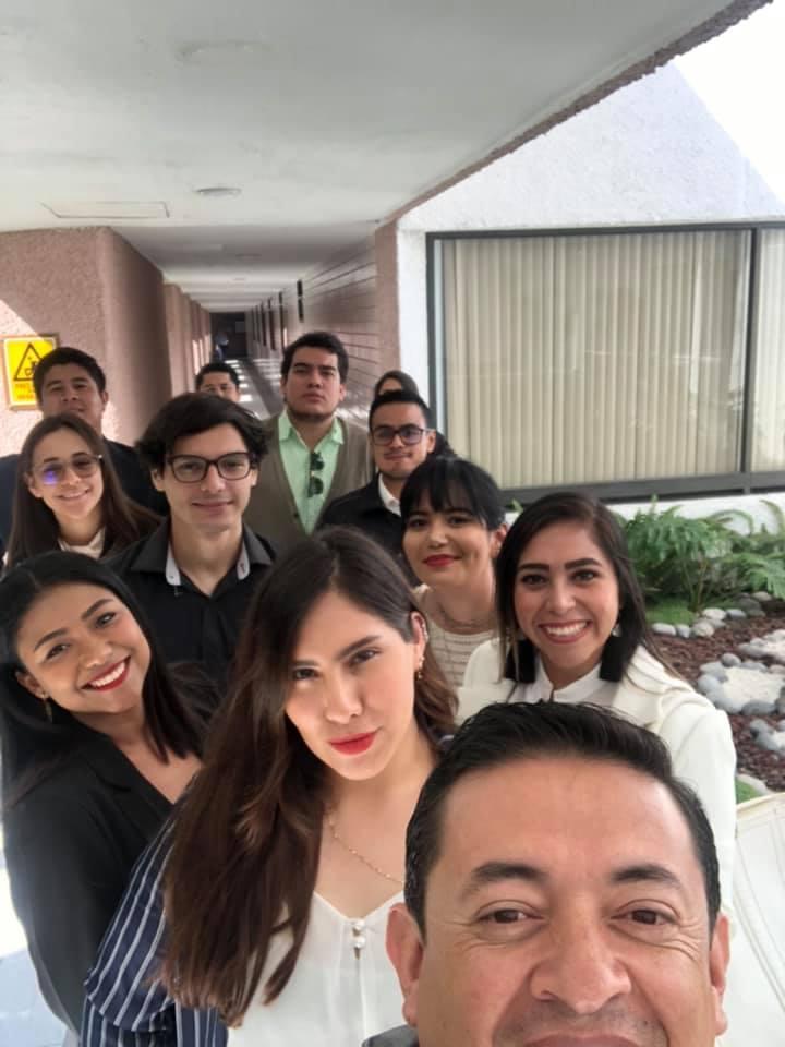 Selfie de la Visita a CDMX