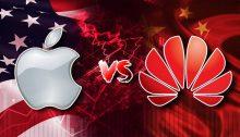 Huawei V Apple