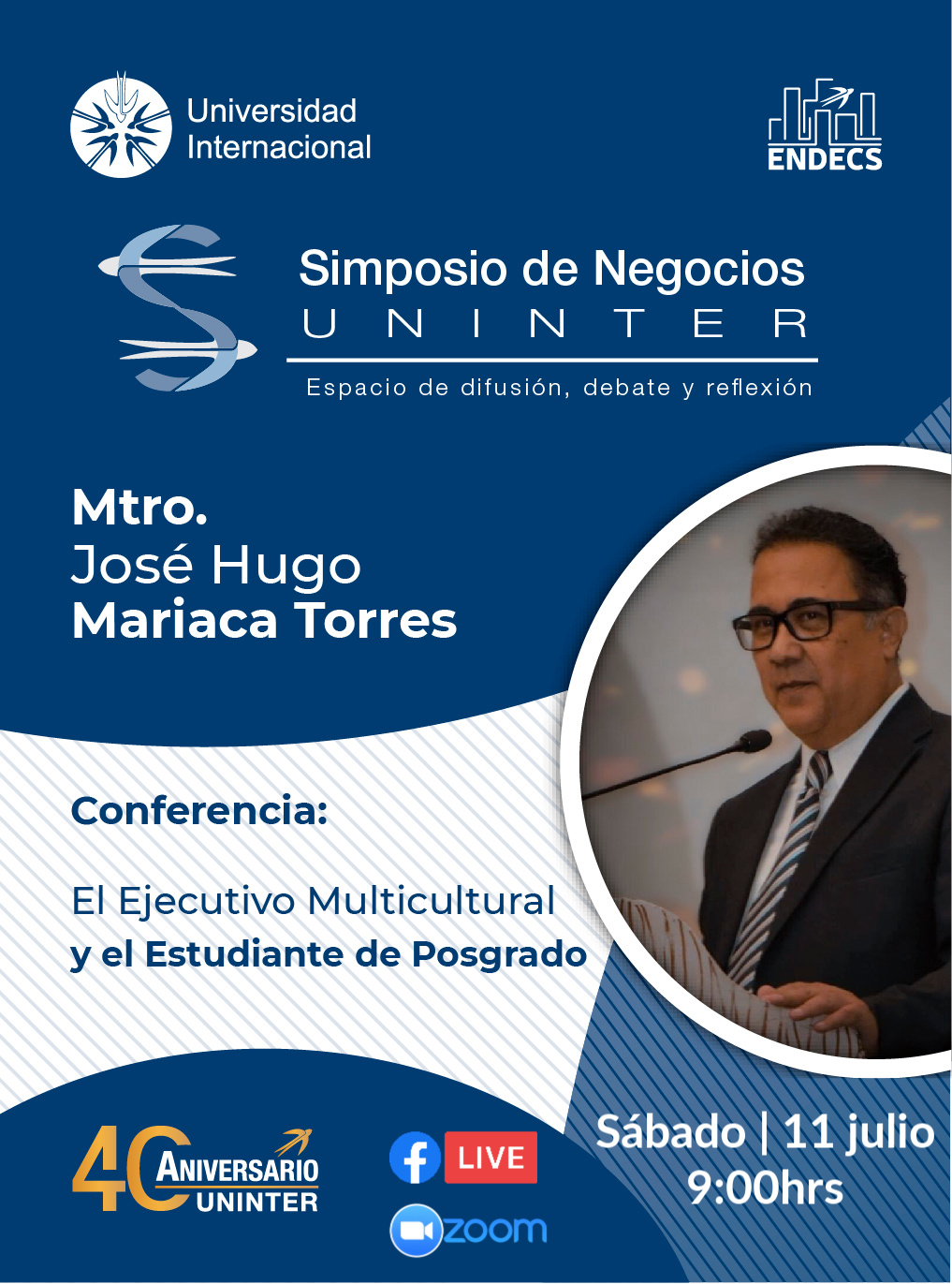 Conferencista Mtro Jose Hugo Mariaca Torres