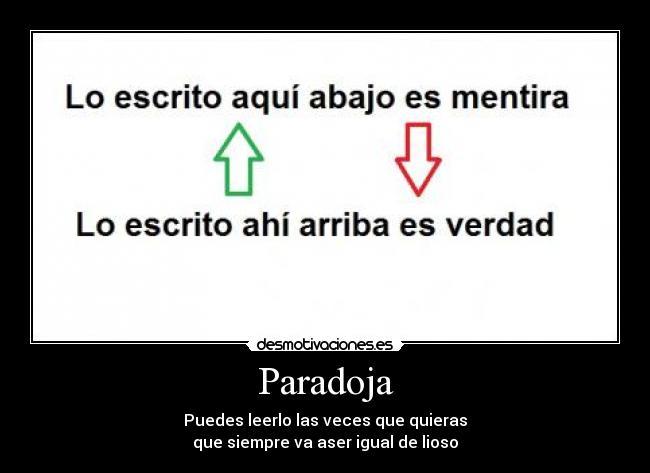 Paradojas WP ENDECS