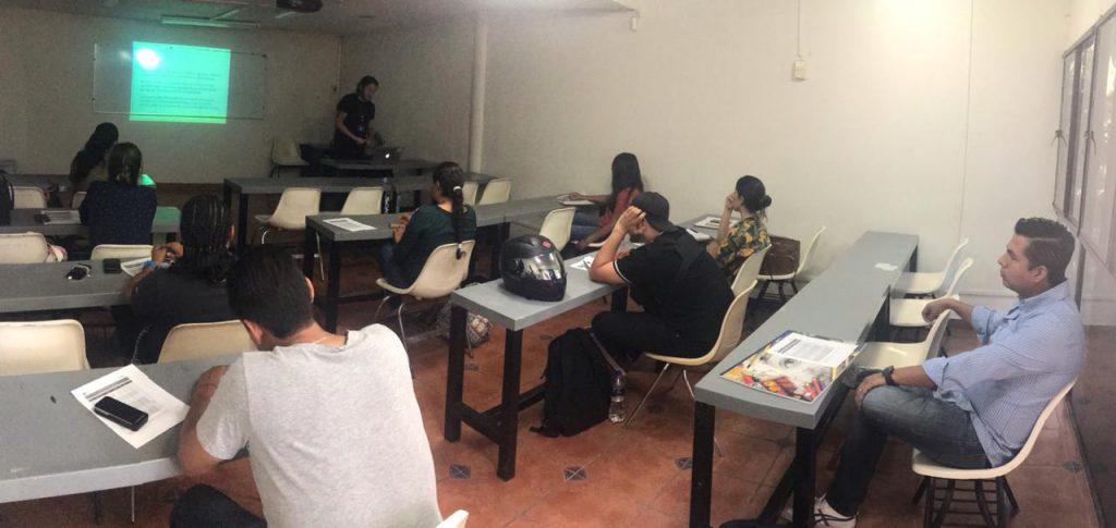 Estudiantes del DDI