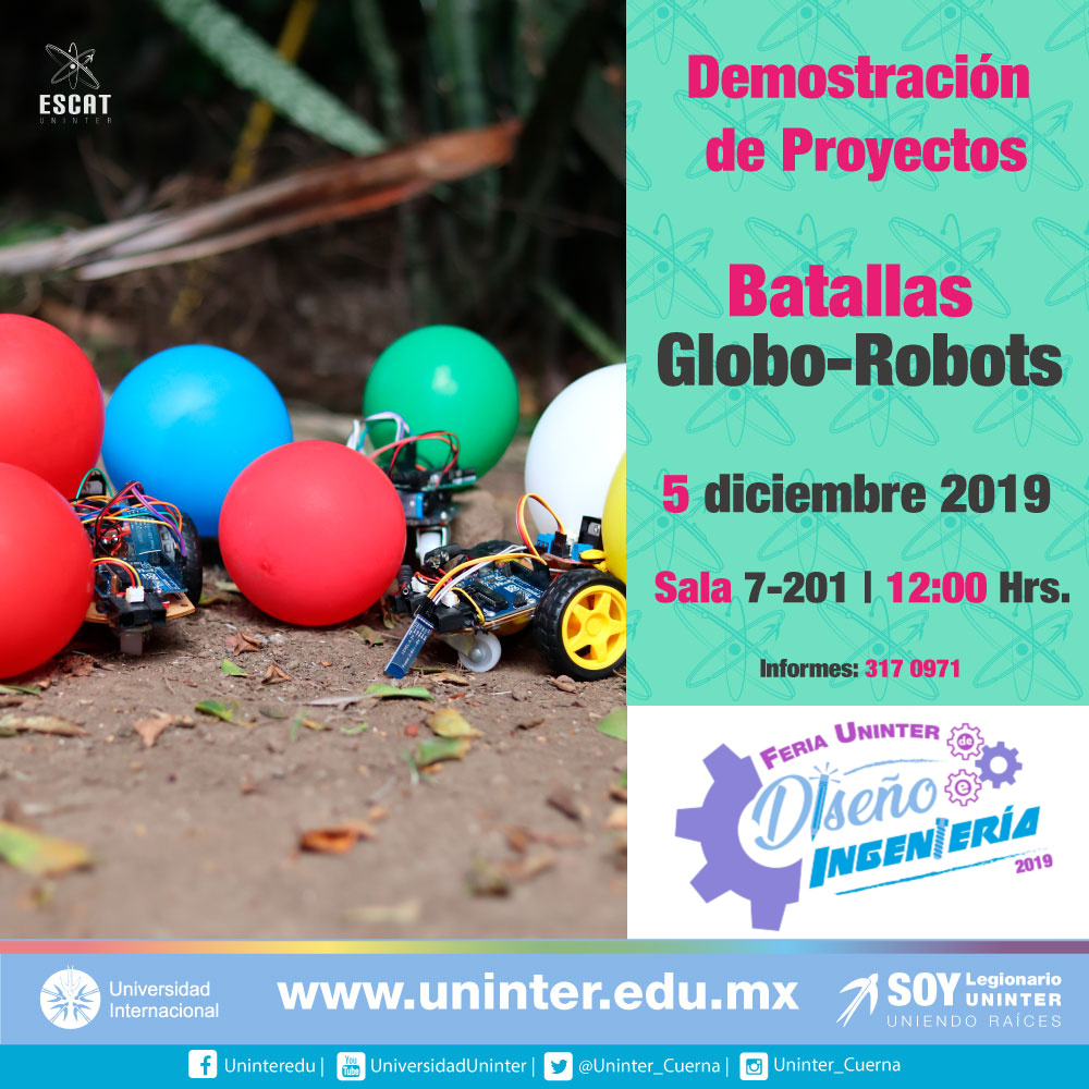 #FeriaDI19 Globo-Robots