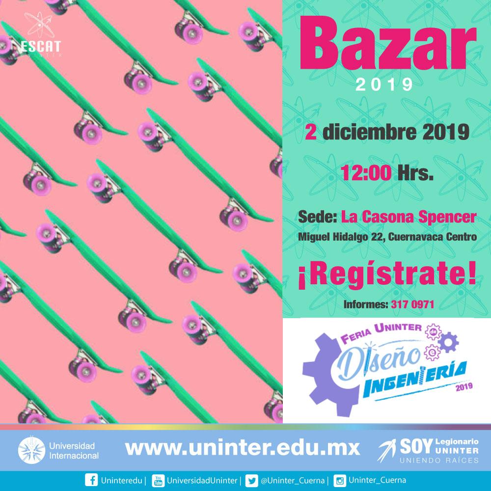 #FeriaDI19 Bazar