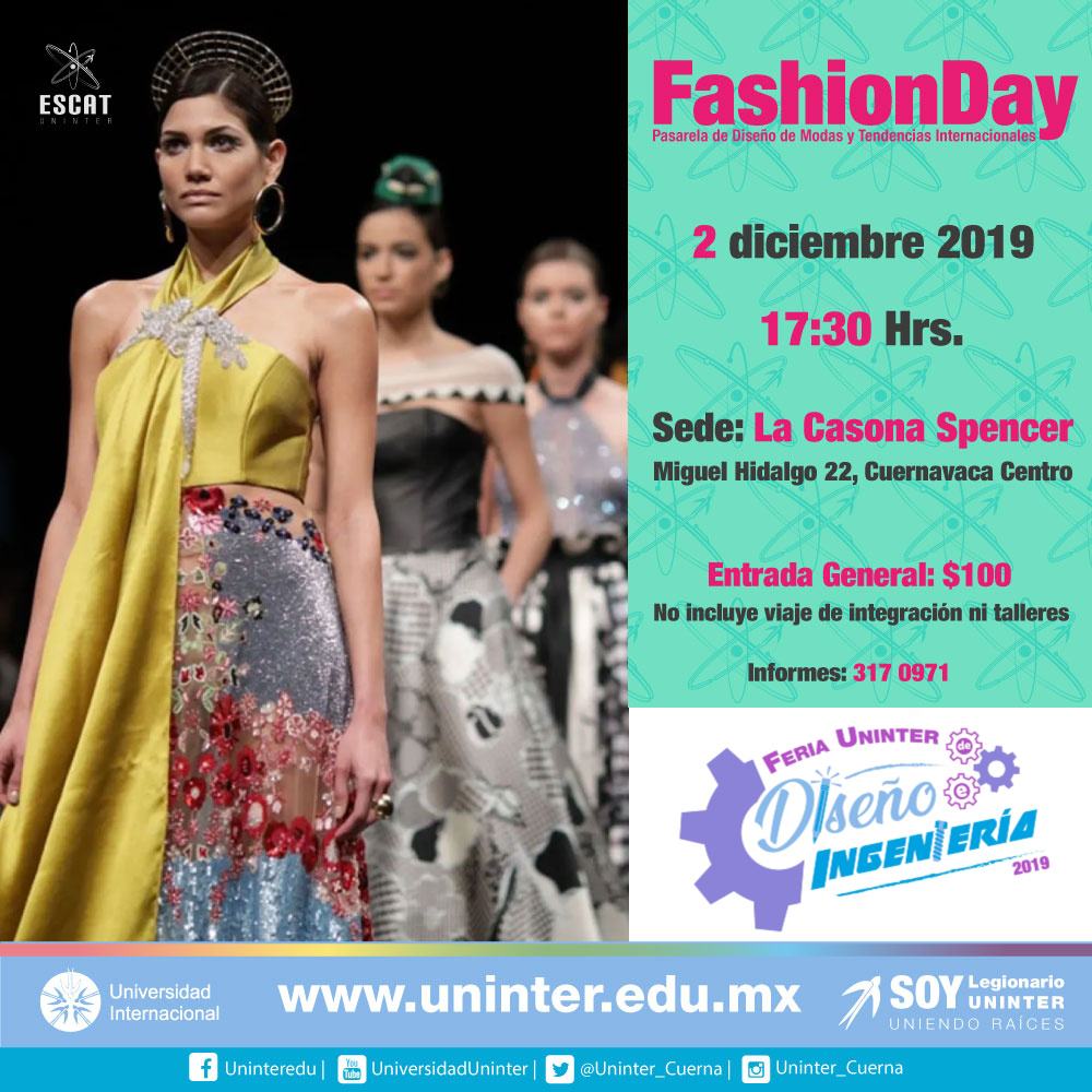 #FeriaDI19 Fashion Day