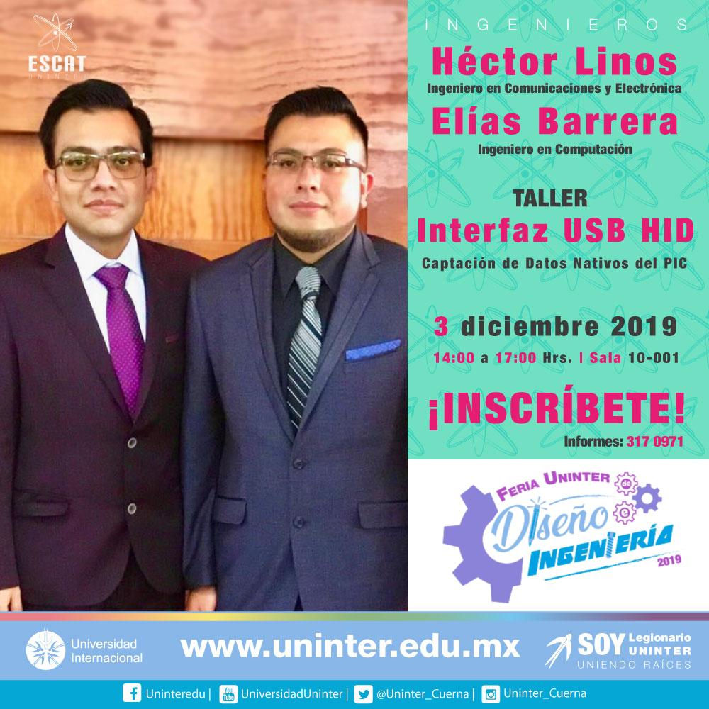 #FeriaDI19 Interfaz USB HID