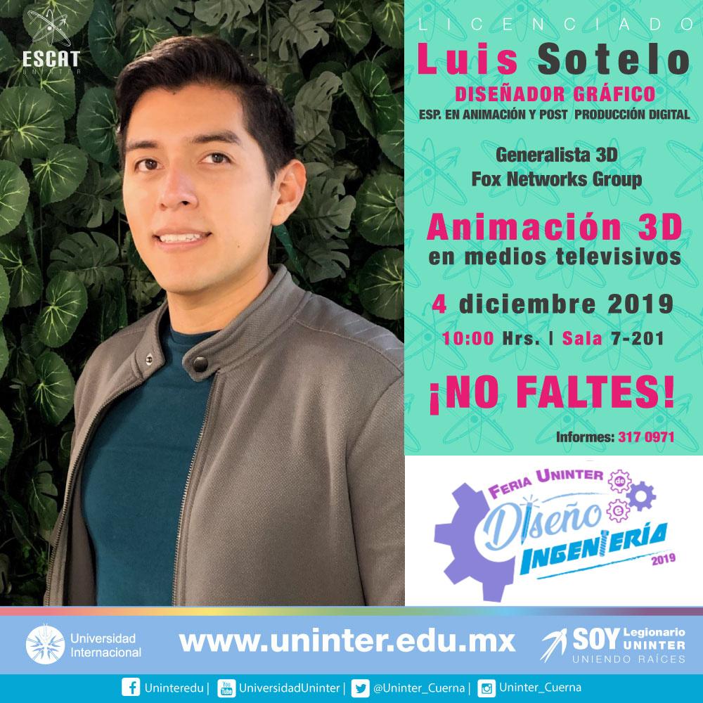 #FeriaDI19 Animación 3D