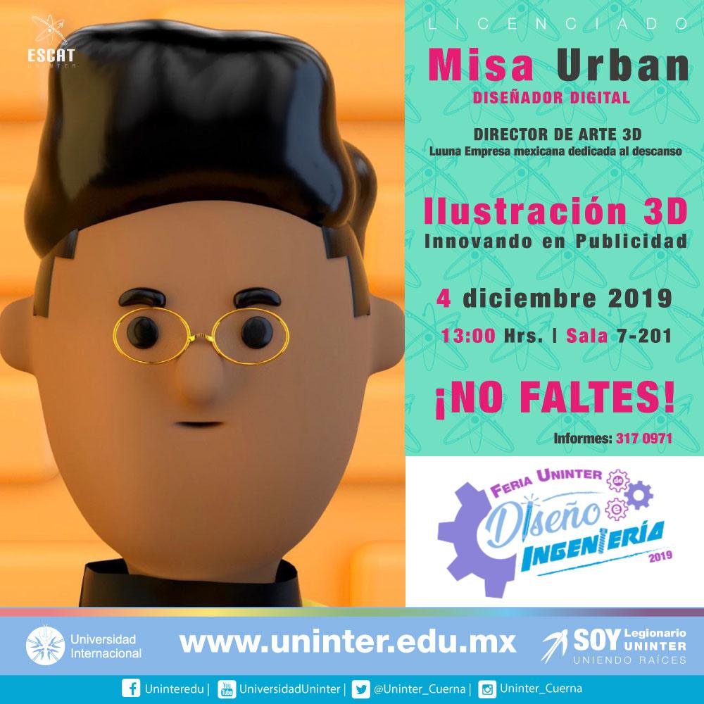 #FeriaDI19 Ilustración 3D