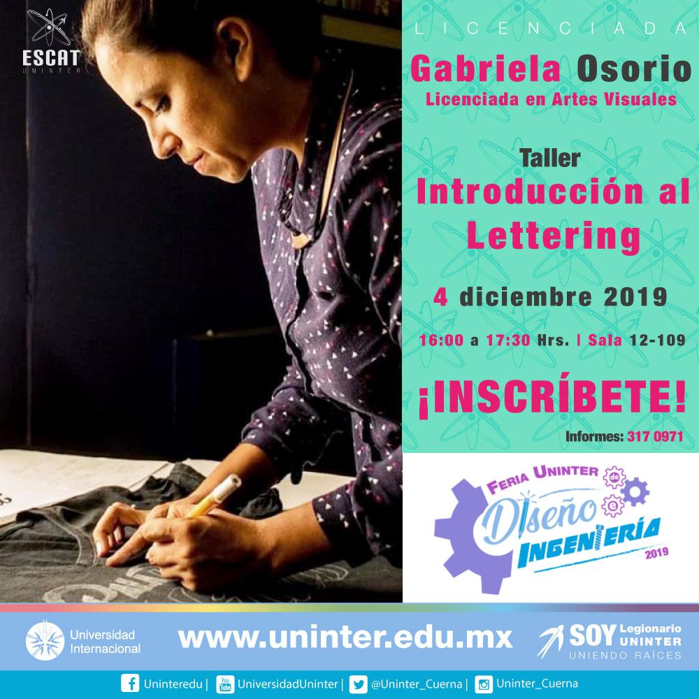 #FeriaDI19 Introducción al Lettering