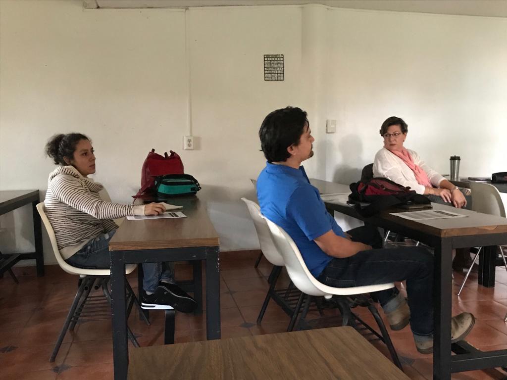 Alumnos en el inicio del DDI