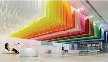 Uso de colores del arcoiris