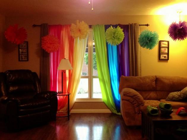 Tips en las cortinas