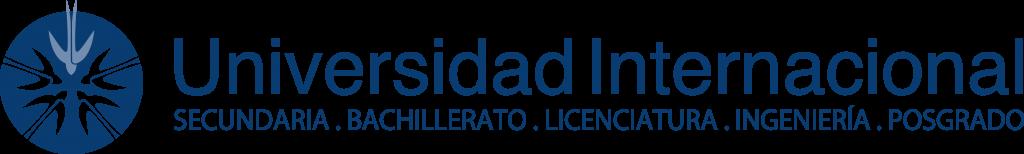 Logo de la Universidad Internacional.