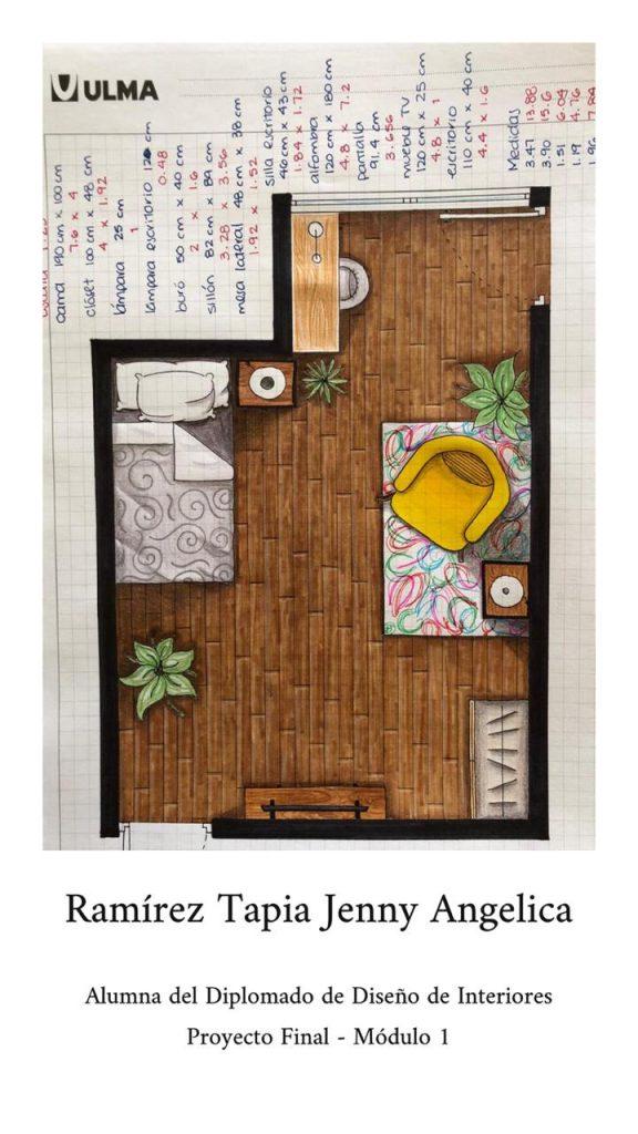 Proyección Arquitectónica: Angelica Ramírez