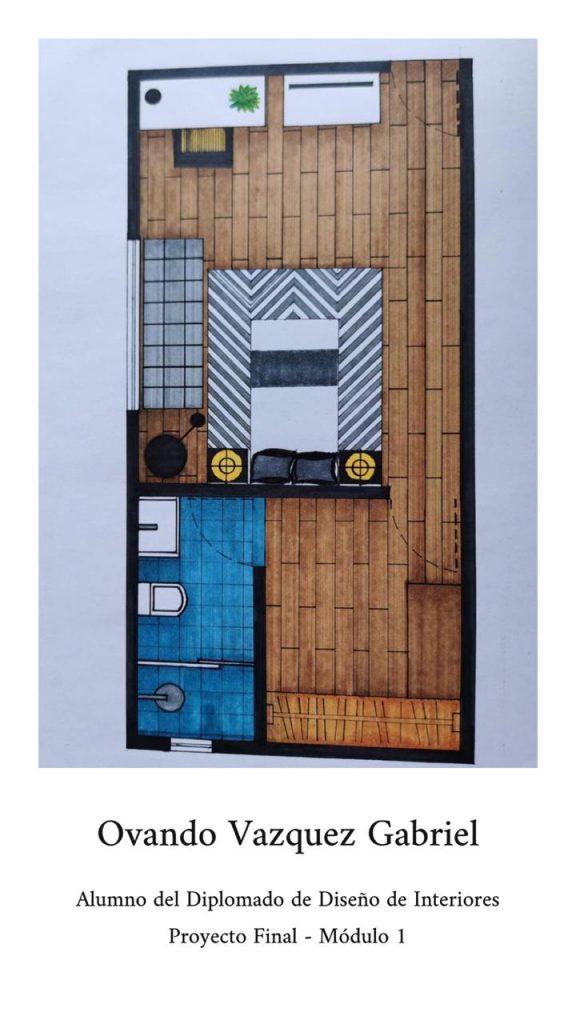 Proyección Arquitectónica: Gabriel Ovando