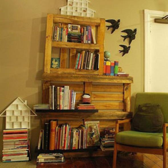 Para uso de libreros