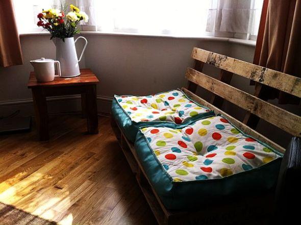 Formas de utilizar las tarimas en un sillón