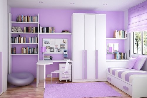 Psicología del color violeta