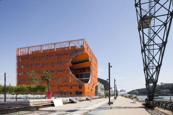 Psicología del color en edificios
