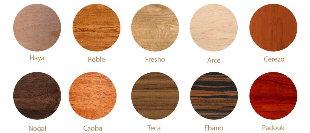 Tipos de madera: cuales son las más utilizadas #Talleres - ESCAT