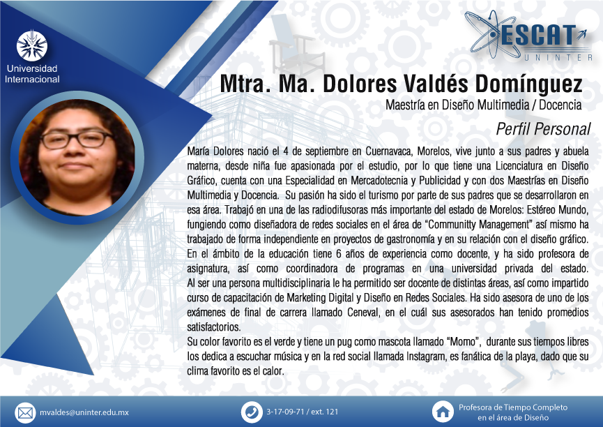 Mtra. Dolores