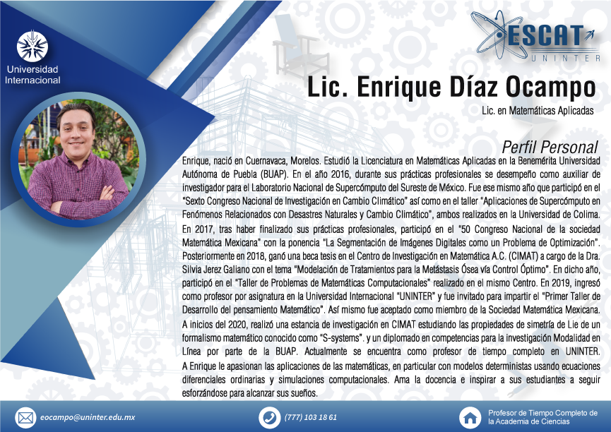 Lic. Enrique Díaz