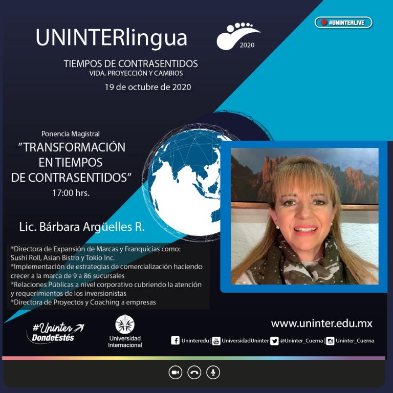 Semblanza de ponente de Uninterlingua
