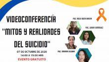 Plática en zoom sobre Prevención del Suicidio